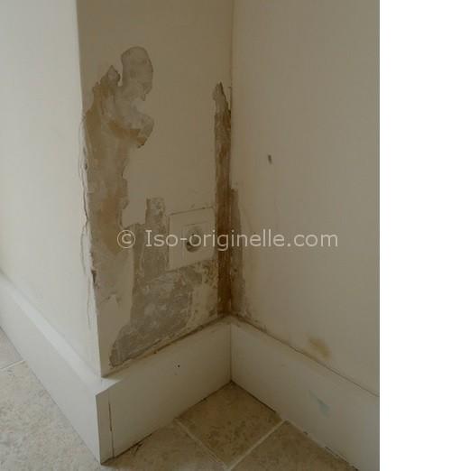 Humidité sur les murs intérieurs