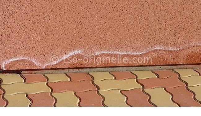 Humidité sur la façade