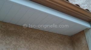 Passe de toit en PVC