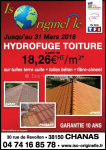 Imperméabilisation de la toiture