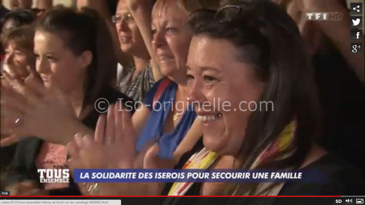 Tous ensemble Agnin - Françoise