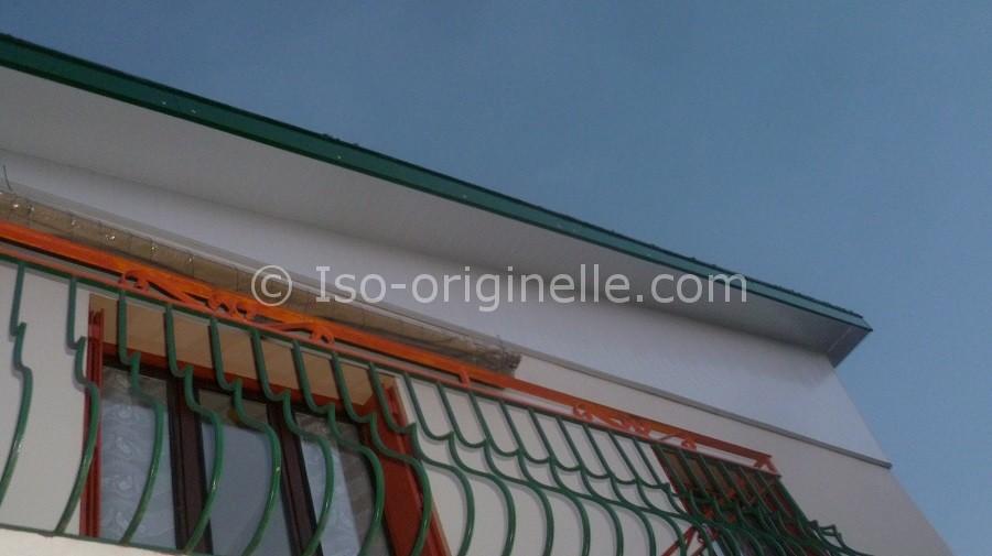 Habillage sous-faces et fronton PVC